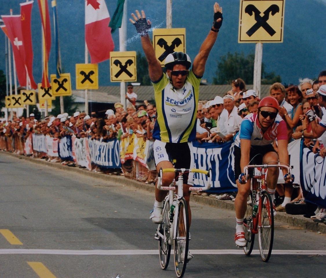 Glenn at 1991 World Championships